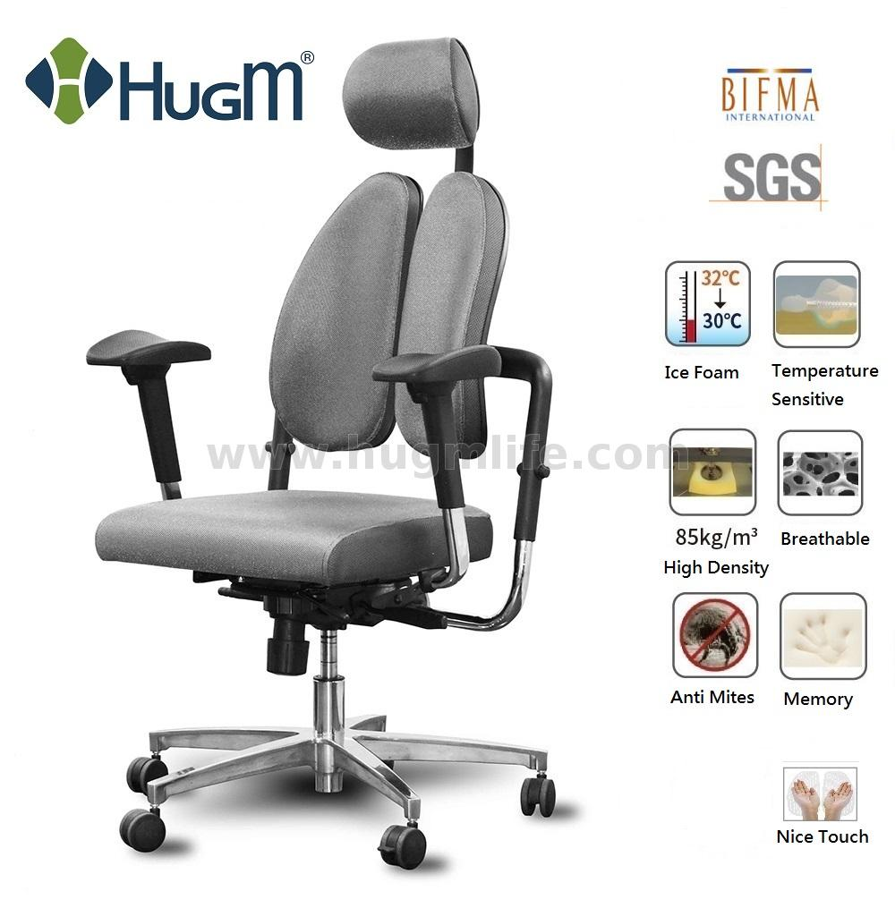 Hugm Chair With Cool Seat Cushion And Duo Back Tx Super Taiwantrade Com