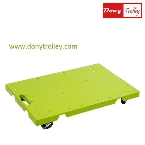 DTPG-1R3AX Connectable platform dolly green b