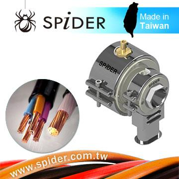 Optic fiber cable producing extrusion crosshead