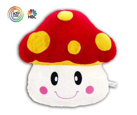 Custom mashroom vegetable pillow and cushion