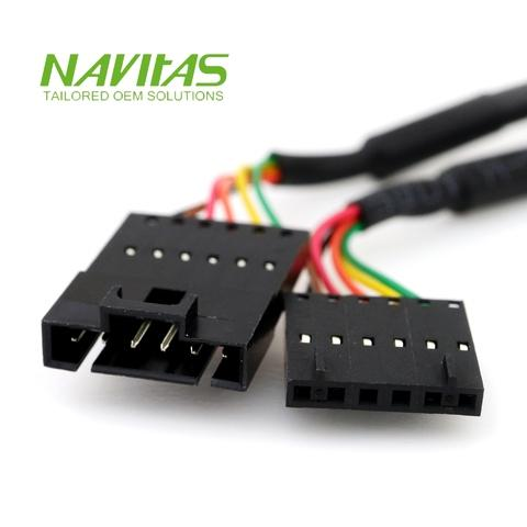 Taiwan Molex 6pin 2.54mm Male to Connector Custom Wiring ... on