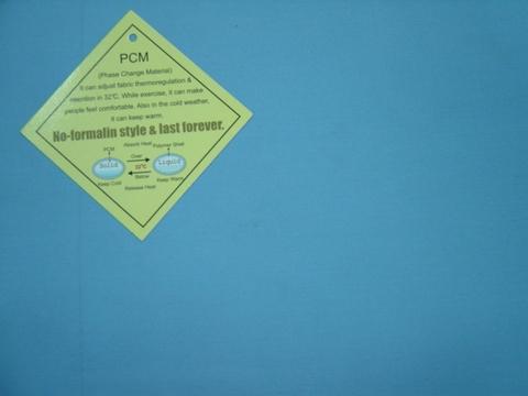 Taiwan Poly Micro Termal Fabric, PCM Fabric,Work Cloth