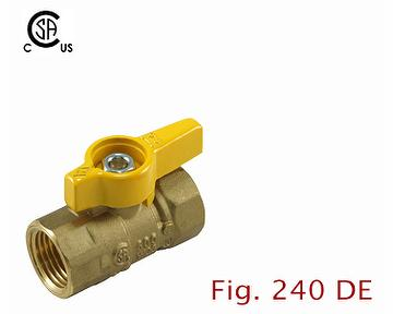 2-pc Forged Brass Ball Valve