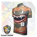FIGURE ARMOR Cycling Jerseys-SQUADRON-FLYING TIGERS P-40-AVG Limited Edition