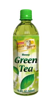 Assam Honey Green Tea 500mL