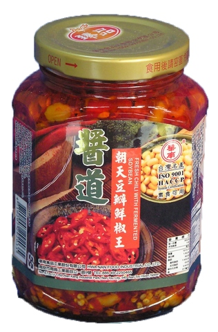 FRESH CHILI WITH FERMENTED SOYBEAN,agricultural foods chili sauce,