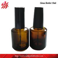 15ml Amber Glass Polish Oil Bottle