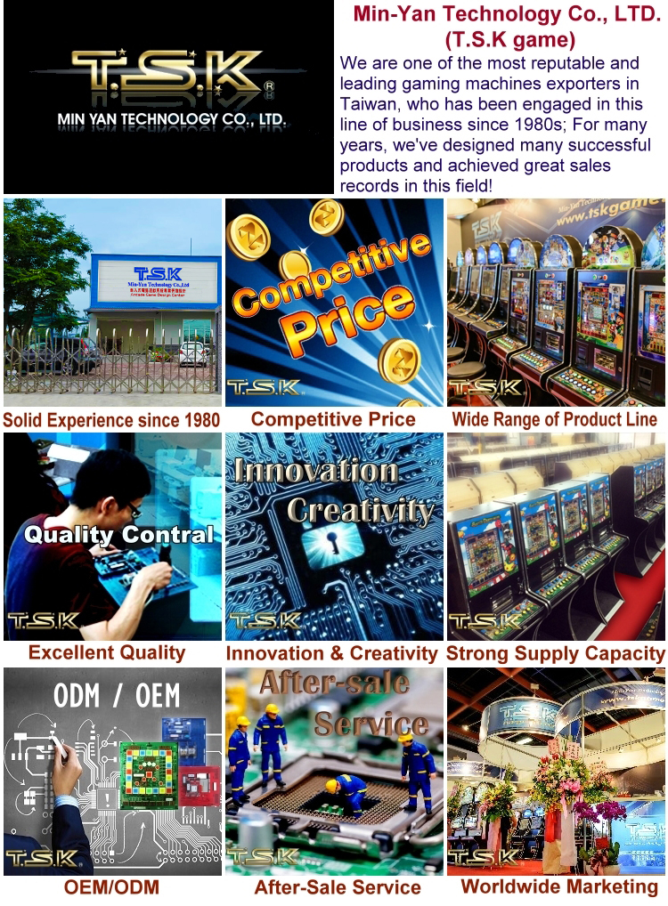 TSK Taiwan Arcade Mario Slot Game Machine KIT: KM-5 Screw Set iDealEZ