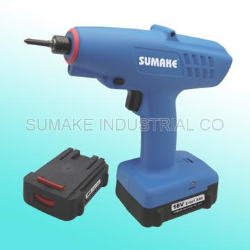 18V Brushless full auto shut-off cordless screwdriver