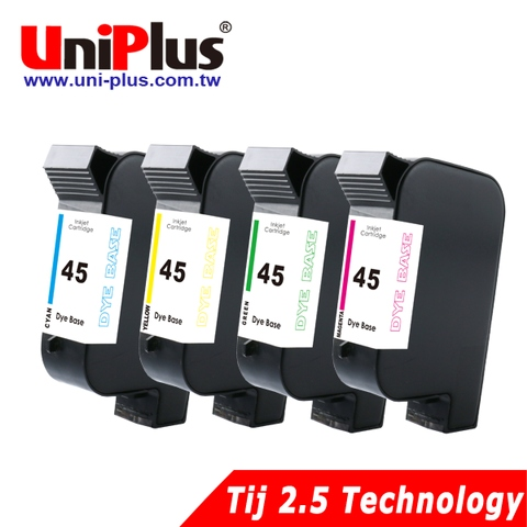 HP 45 dye-based (aqueous) color ink cartridge