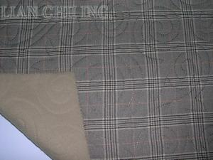embossed knitted fabric