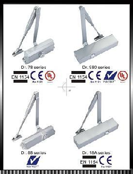 door closers, floor hinges, floor springs, building hardware, EN, PSB, UL, CE