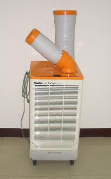 Portable and mobile air conditioner