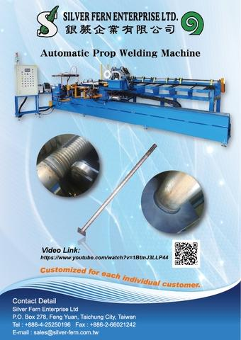 Automatic Scaffolding Prop Welding Machine