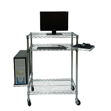 Wire Mobile Computer Workstation