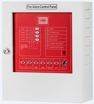 YF-3 4 Zone Conventional Fire Alarm Control Panel