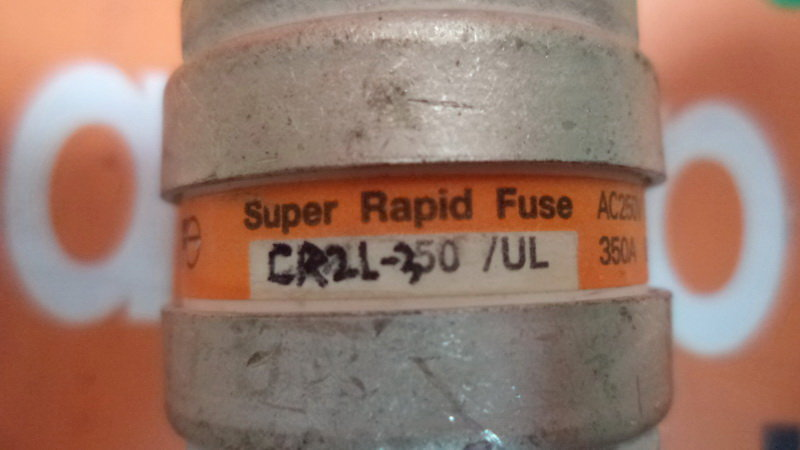 Fuji Super Rapid Fuse CR2L-350 / UL