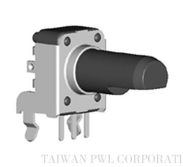 Rotary series insulated shaft type potentiometers