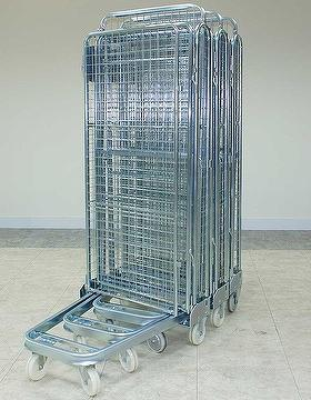 Taiwan Wire Fully Sided Security Rolling Mobile Cage