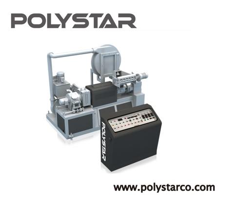ماكينة إعادة تصنيع بلاستيك صغيرة