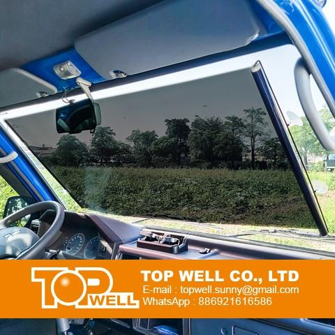 Car Rolling Sunshade for front windows