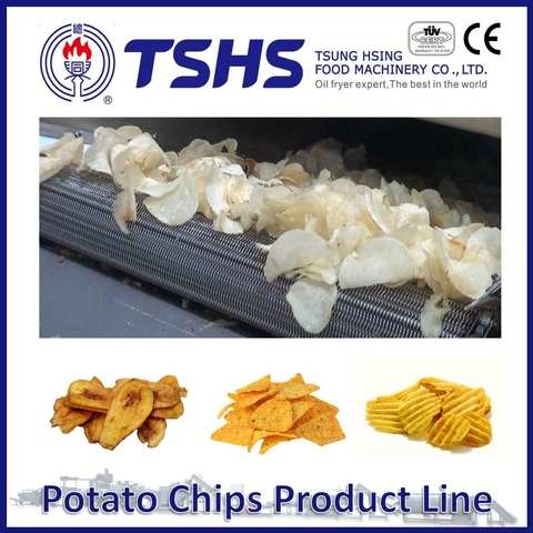 Made in Taiwan High Quality Mister Potato Chips Cutting Machine