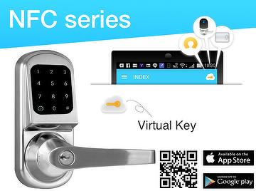 Nestech DSS NFC smart keyless lock with APP
