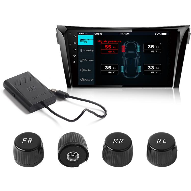 Taiwan TPMS, Tire Pressure Monitor system DVD Display