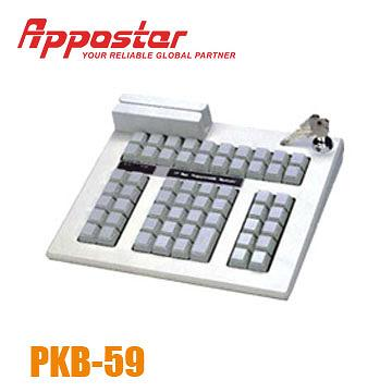 Appostar Programmable Keyboard PKB59 Front View