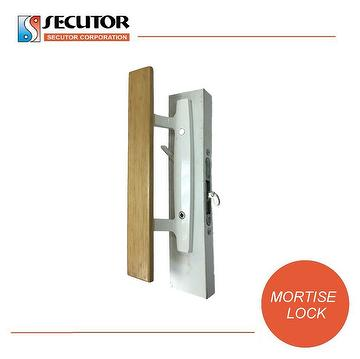 Taiwan Aluminum Sash Patio Door Handle Lock Set Secutor