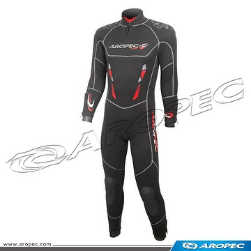 7/5mm Nylon/Super-Stretch 2PC wetsuit for Man, Diving Suit,