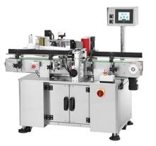 Champagne Glass Bottle Spindle Wraparound Labeler