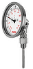 Bi-metal Thermometer (Crimp Bezel, Adjustable Angle Type)