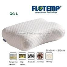 Pillow-Temperature Sensitive Foam Flotemp Side Large QGL