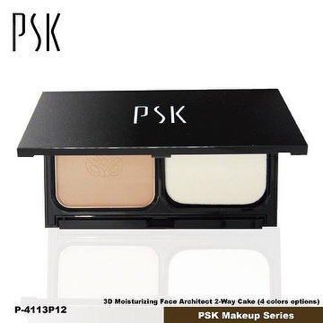 P4113_P21 Color_PSK 3D Moisturizing Face Architect 2-Way Cake_Made in Taiwan PSK Makeup