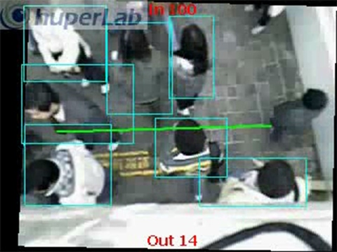 Taiwan Stereo Vision Crowding People Counting Software