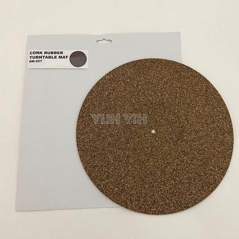 3.0mm thick Rubber Cork Turntable Mat