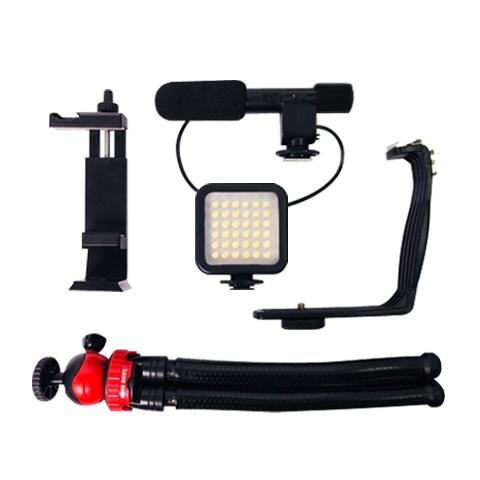 Kingbest smartphone Vlogging Video lighting kit