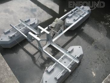 machine aspirator aerator for wastewater