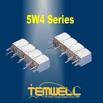 Helical Bandpass Filter- 5W 4 pole Fillter