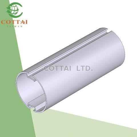 Cottai Aluminum Extrusion For Roller Tube Roller Blind