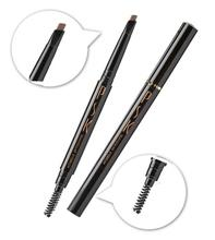 PSK Make Up Waterproof Triangular Eyebrow Pencil (Brown)