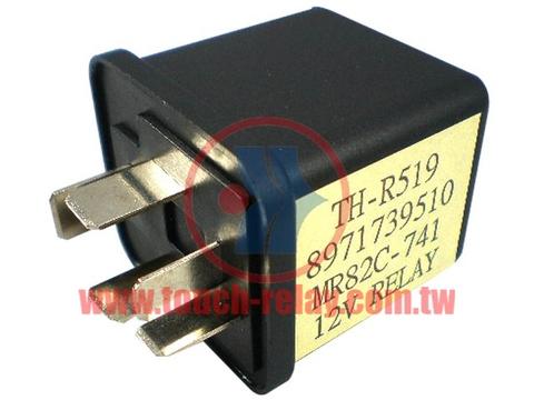 12V 5P 繼電器 RELAY 適用於三菱 五十鈴 MITSUBISHI ISUZU 8-97173951-0 MR82C741 00302B 8-97264947-0 2738102-A 台灣製