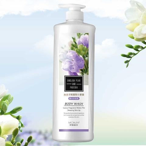 Sapindus English Pear Freesia Perfume body wash