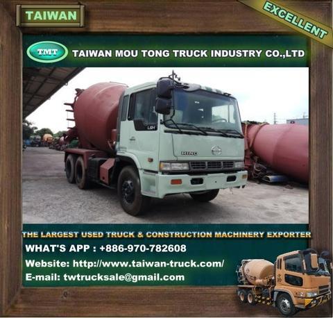 Taiwan Hino Concrete truck | Taiwantrade