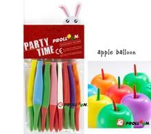 Яблочные шары  для украшения дня рождения -