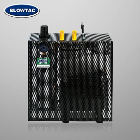 Single Cylinder Mini Air Compressor with Tank and cover