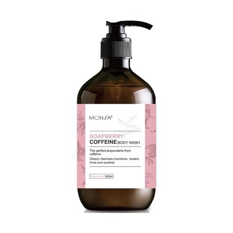 Soapberry caffeine body wash (Floral fragrance)