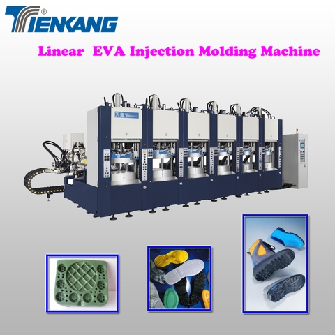 Linear EVA Injection molding machine