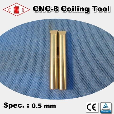 CNC-8 Coiling Tool 0.5 mm